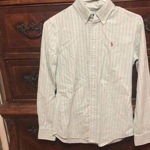 Ralph Lauren XS custom Fit Button Down Shirt.